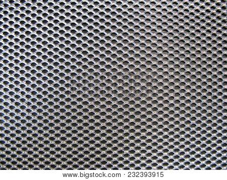 Industrial Metal Grid Texture Or Web Background