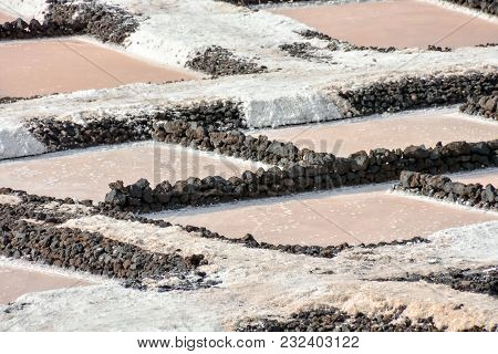 Picture Photo Of Salt Flats In The Canry Islands