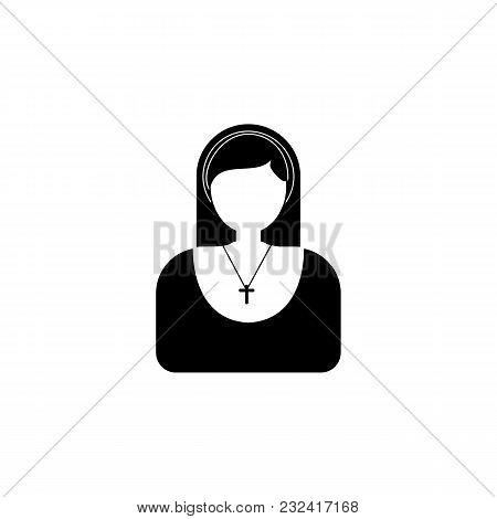 Nun Avatar Icon.element Of Popular Avatars Icon. Premium Quality Graphic Design. Signs, Symbols Coll