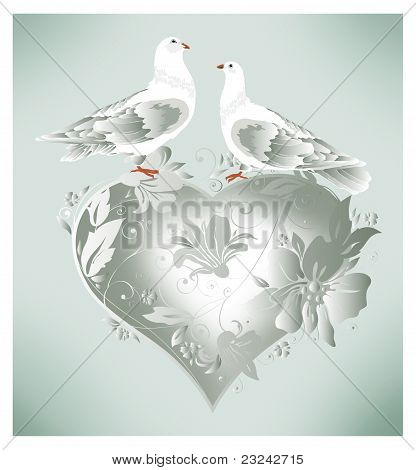 Wedding doves