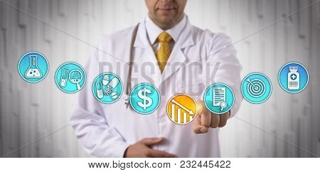 Unrecognizable Clinical Research Scientist Lowering The Market Price Of A Newly Approved Drug Via To