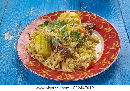Surbiyaan - Or Zurbiyan Is A Type Of Biryani That Is Popular In Yemen, Other Parts Of The Arabian Pe