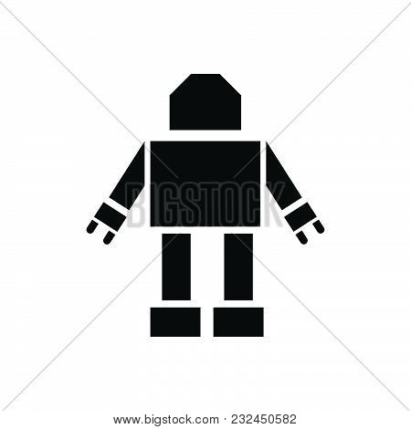 Robot Vector Icon On White Background. Robot Modern Icon For Graphic And Web Design. Robot Icon Sign