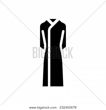 Dress Vector Icon On White Background. Dress Modern Icon For Graphic And Web Design. Dress Icon Sign