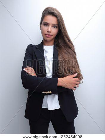 closeup. a modern young woman