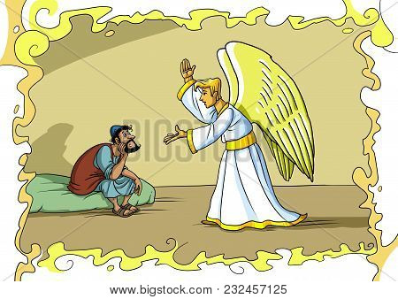 The Angel Gabriel Comes To Joseph In A Dream And Asks Him To Accept Mary And Take Care Of Jesus Chri