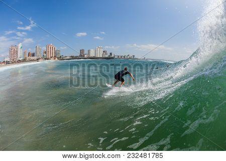 Surfing Water Action Durban