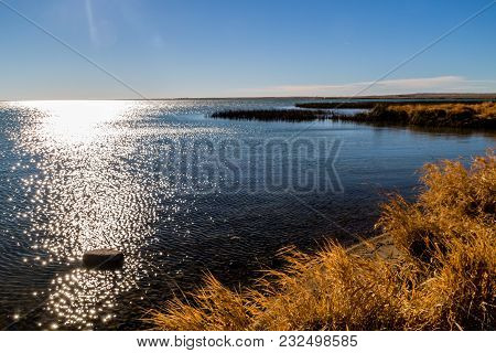 Shimmering Water, Lake Mcgregor Provincial Recreation Area, Alberta, Canada