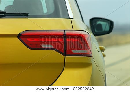 Back Lamp Of New Luxury Passenger Car