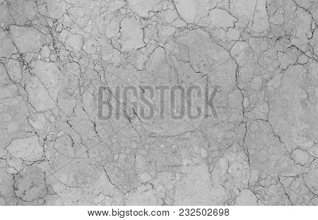 Light Grey Natural Seamless Marble Stone Texture Pattern Background. Rough Natural Stone Seamless Ma