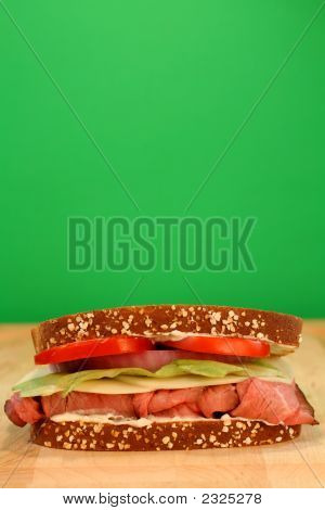 Roast Beef With Room For Copy
