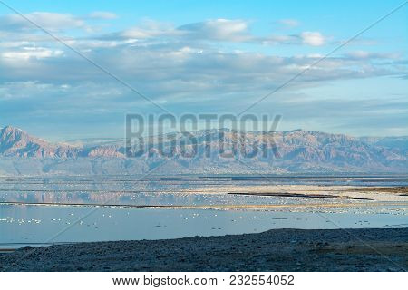 Sunset Over Dead Sea, Image & Photo (Free Trial)   Bigstock