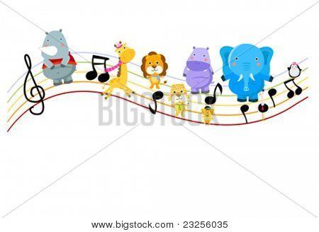 Music and animal