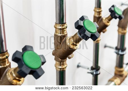 Regulators Pipes And Pipelines And Various Networks, Water, Gas, Combustible Lubricants. Plumbing Eq