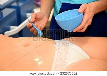 Rf Skin Tightening, Belly. Hardware Cosmetology.body Care. Non Surgical Body Sculpting. Ultrasound C