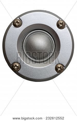 High-frequency Loudspeaker Of Metallic Color Beautiful And Accurate Sound Of High Frequencies Macro