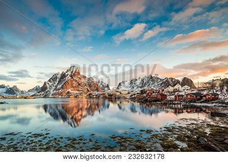 Reine, Lofoten, Norway - An Amazing View At Sunrise