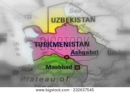 Turkmenistan, Formerly Known As Turkmenia, Asia (selective Black And White Focus)