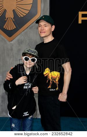 LOS ANGELES - FEB 21:  Max Gorman, Burn Gorman at the