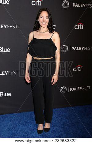 LOS ANGELES - MAR 22:  Melissa Reiner at the 2018 PaleyFest Los Angeles -