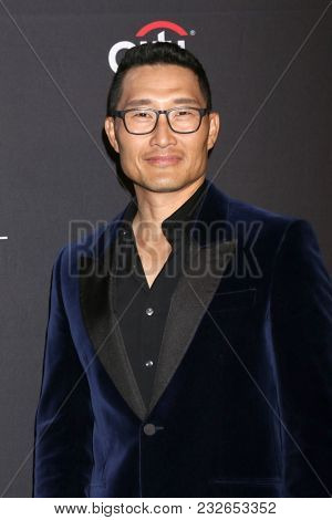 LOS ANGELES - MAR 22:  Daniel Dae Kim at the 2018 PaleyFest Los Angeles -