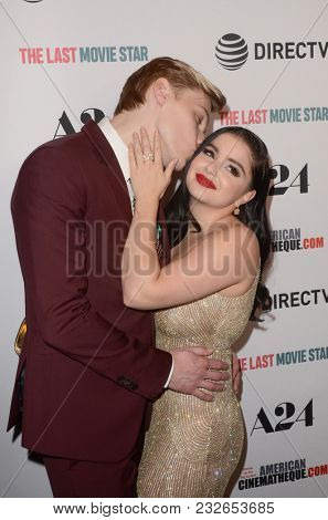 LOS ANGELES - FEB 22:  Levi Meaden, Ariel Winter at the