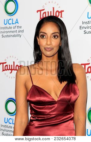 LOS ANGELES - FEB 22:  Azie Tesfai at the UCLA's 2018 Institute Of The Environment And Sustainability (IoES) Gala at the Private Estate on February 22, 2018 in Beverly Hills, CA