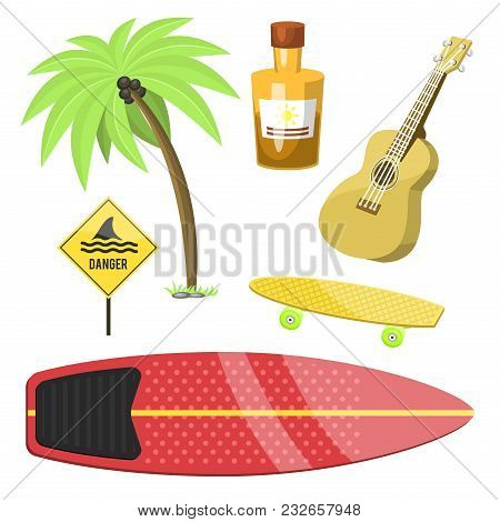 Surfing Active Water Sport Surfer Summer Time Beach Activities Windsurfing Jet Water Wakeboarding Ki