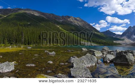 Consolation Lakes Panorama
