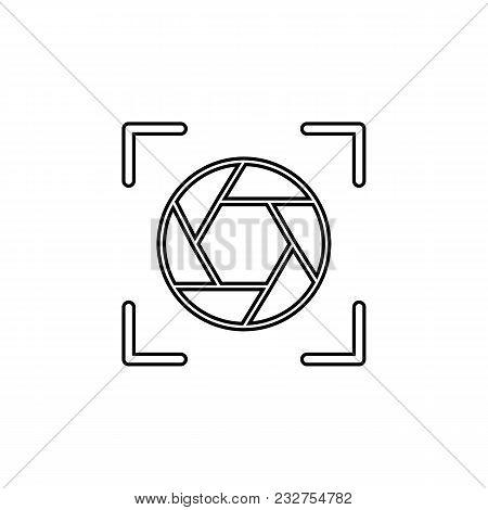 Diaphragm Icon.element Of Popular Camera Icon. Premium Quality Graphic Design. Signs, Symbols Collec