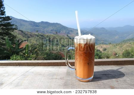 Milk Tea Or Thai Milk Tea Or Iced Tea