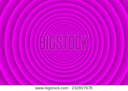 Concentric Circle Elements Violet Pattern, Purple Color Ring, Circle Spin Target,