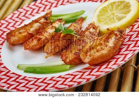 Grilled Jamaican Jerk Shrimp