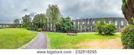 Historic Mccaig's Tower In Oban, Argyll - Scotland