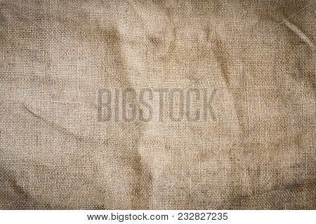 Texture Natural Rustic Old Burlap. Backgrounds, Textures