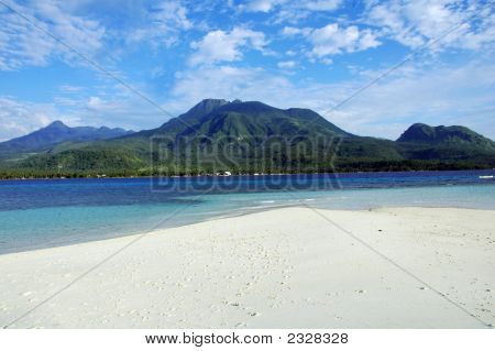 Camiguin Island Facing Volcano