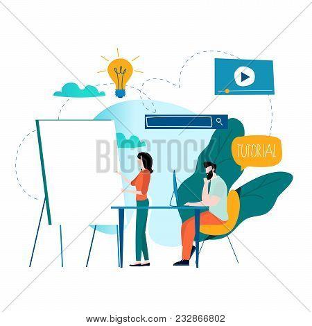 Professional Training, Education, Online Tutorial, Online Business Courses, Business Presentation Fl