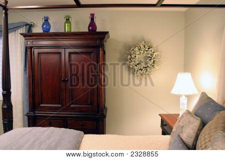Softly Lit Bedroom