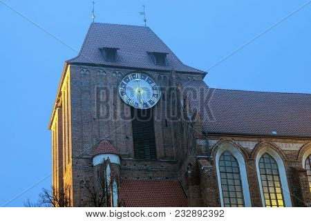 Cathedral Of St. John The Baptist And St. John The Evangelist In Torun. Torun, Kuyavian-pomeranian V