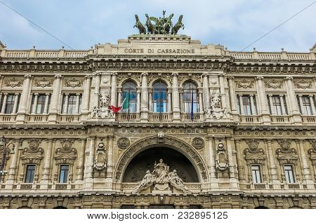 Rome, Italy - 08/13/2012 -  Supreme Court Of Cassation (italy)