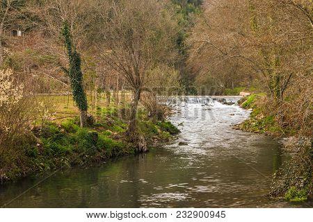 River Stream In Portugal