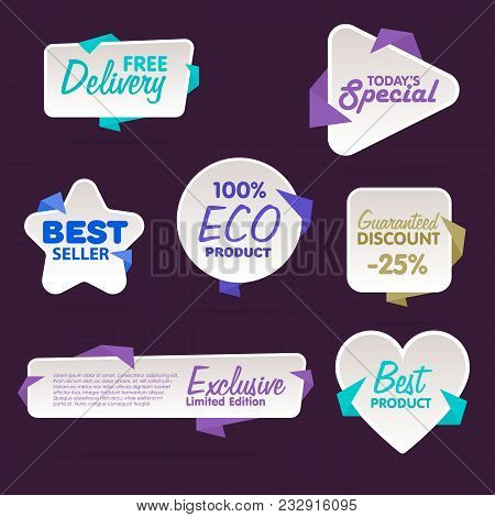 Sale Tag Raster Isolated. Sale Sticker With Special Advertisement Offer. Tags Collection. Super Sale