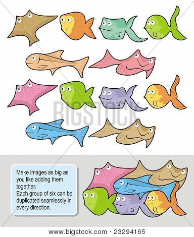 Fish Cartoons