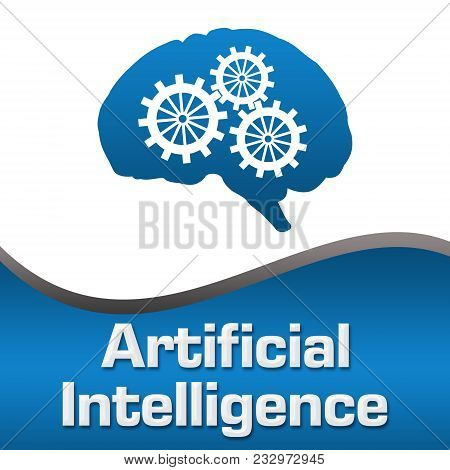 Artificial Intelligence Concept Image With Text And Related Symbols.