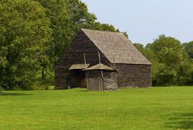Old Barn In Field