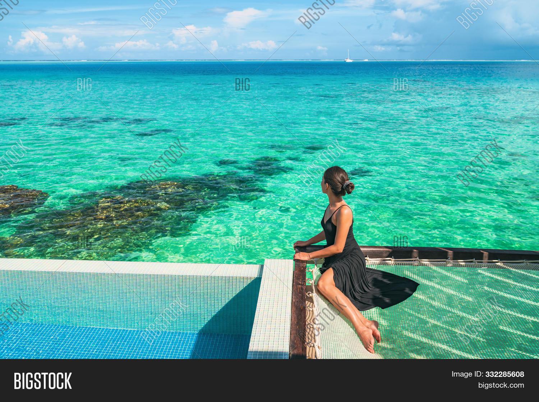 Luxury Resort Vacation Image Photo Free Trial Bigstock