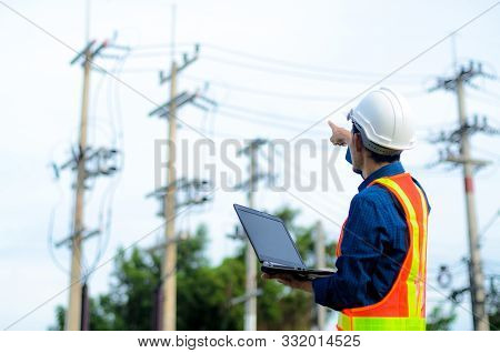 Engineer Electric Checking And Maintenance Of Electric