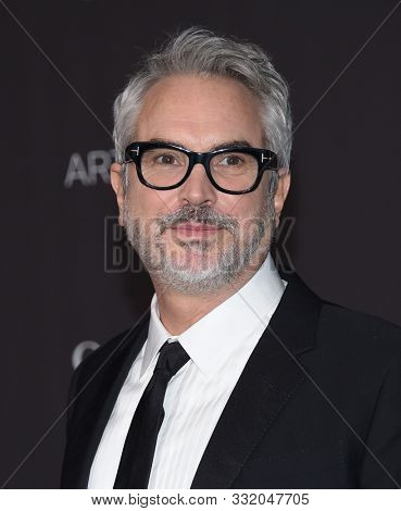LOS ANGELES - NOV 02:  Alfonso Cuaron arrives for the LACMA Art and Film Gala 2019 on November 02, 2019 in Los Angeles, CA