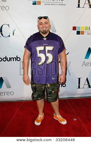 NEW YORK-MAY 17: Chef Duff Goldman attends the IAC And Aereo Official Internet Week New York HQ Closing Party at IAC HQ on May 17, 2012 in New York City.
