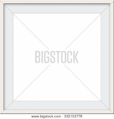 Cream Color Ecru Square Matted Frame Blank Template Room For Custom Picture Or Text For A Picture Fr